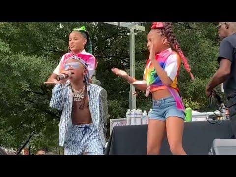 Download KD DA KID- PERFORMS MILLIONAIRE  AT ATL HIP HOP DAY  VLOG