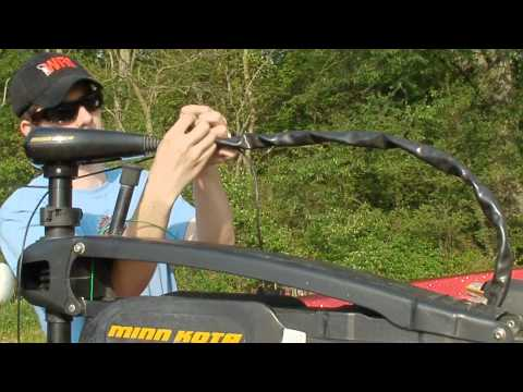 Mounting a Fish Finder On A Trolling Motor