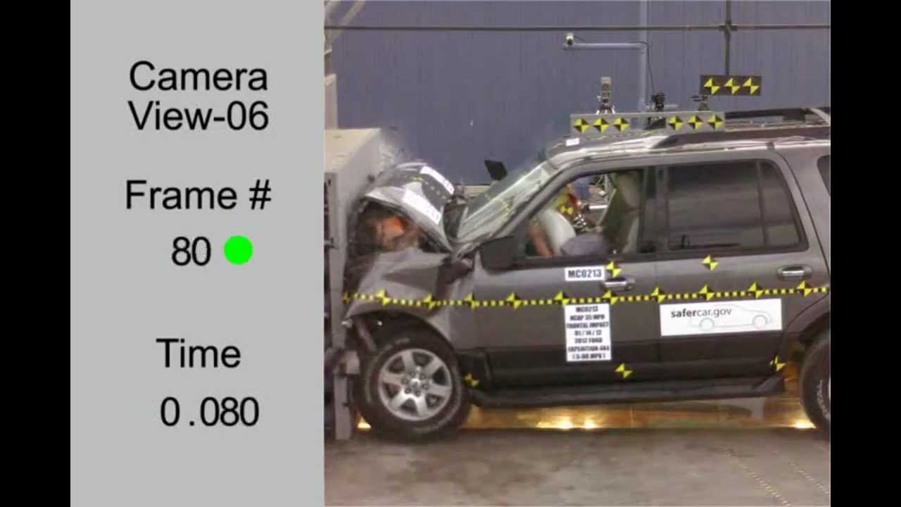 New Ford Excursion >> Ford Expedition | 2012 | Frontal Crash Test | NHTSA ...