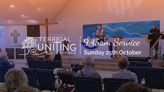 9:45am Service: Sunday 25th October