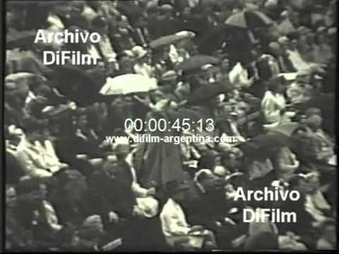 DiFilm - Rod Laver vs Eugene Scott Wimbledon Championships 1968