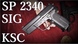 KSC SIG SP P2340 ガスブローバック &…