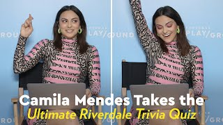 Camila Mendes Takes the Ultimate Riverdale Trivia Quiz