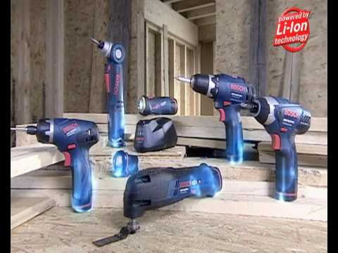 bosch 10 8v lithium ion power tools youtube. Black Bedroom Furniture Sets. Home Design Ideas