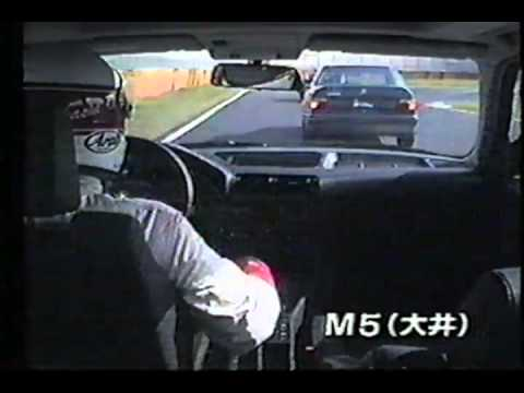 BMW M5 E34 Vs Mercedes 500E W124 (+ JDM)