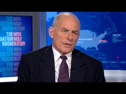 Full interview with DHS Secretary John Kelly