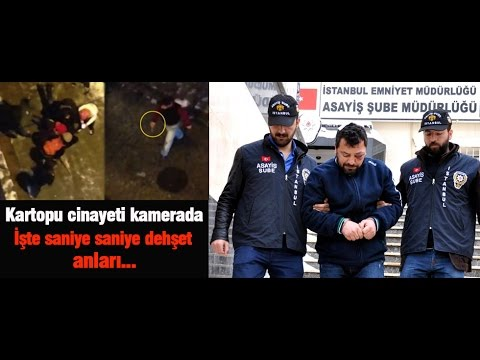 Gazeteci Nuh Köklü böyle öldürüldü (Kar topu cinayeti kamerada)