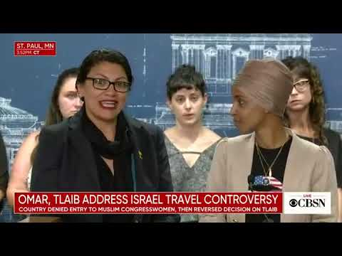 'Just a distraction': Tlaib discusses concerns about group sponsoring Israel trip