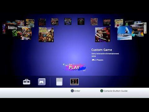Jak usunąć Custom Game z menu konsoli Playstation Classic