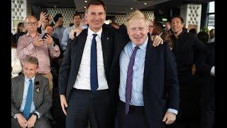 Live: Boris and Hunt take part in Tory leadership hustings