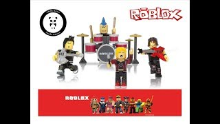 Unboxing Roblox Punk Rockers Series 2