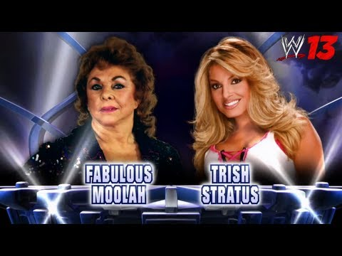 WWE Top 10 Fantasy Matches: 8. Trish Stratus vs. The Fabulous Moolah