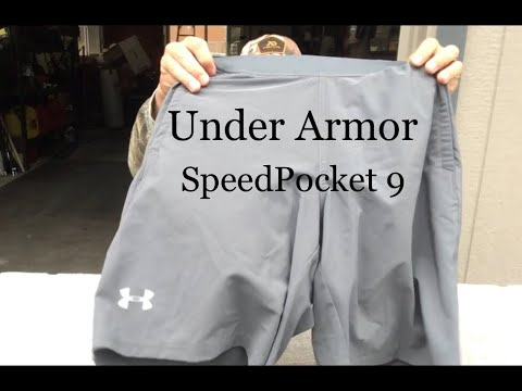 Review of Under Armour SpeedPocket 9