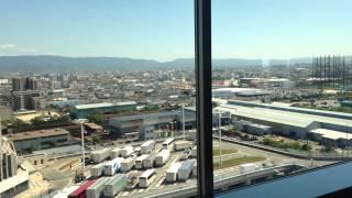 泉大津パーキングエリアの展望台
