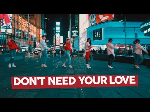[KPOP IN PUBLIC NYC] NCT DREAM X HRVY - DON'T NEED YOUR LOVE Dance Cover By CLEAR