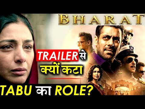 Why Actress Tabu Was Missing From Salman Khan's BHARAT Trailer