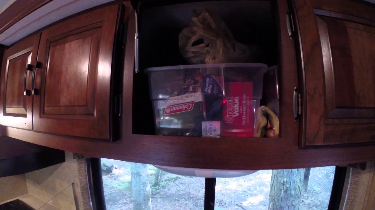 How To Organize RV And Camper Cabinets
