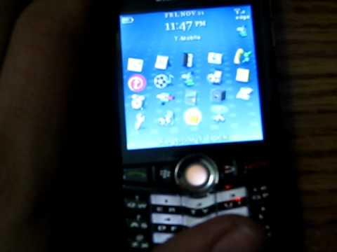 Blackberry Pearl 8100 Review Pt 5