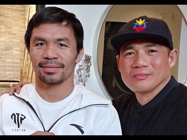 Pacquiao kinawawa, at binugbog ang dalawang ka sparring partner