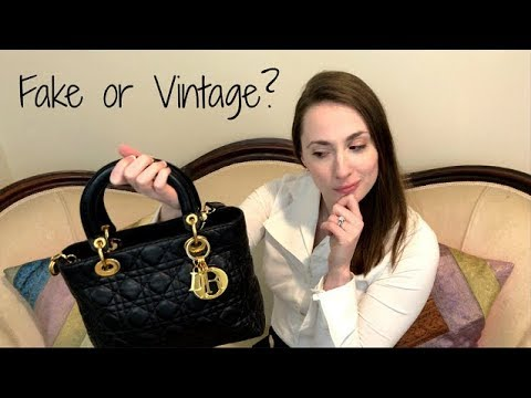 33cfc72ec5 Is My Lady Dior Fake or Vintage? Reveal & Story Time | eBay Valet | How to  Authenticate