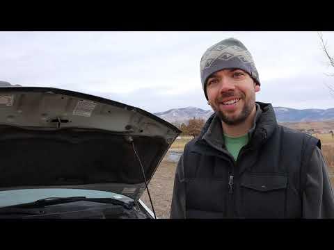 2004 Honda Odyssey oil/air filter change