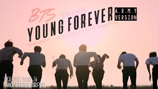 3yearswithbts young forever a r m y version english cover