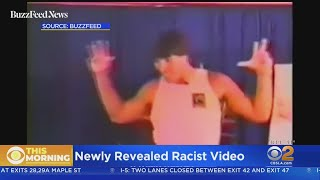 Tony Robbins is seen using a racial slur several times in a video o...