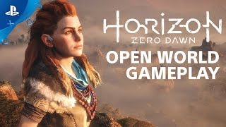 Horizon Zero Dawn - Hands-On: 20 Minutes of Open World Gameplay | PS4