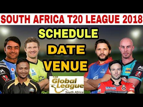 SOUTH AFRICA T20 LEAGUE 2018 SCHEDULE, DATE, TEAMS, MATCHES AND VENUE | SA T20 LEAGUE SCHEDULE
