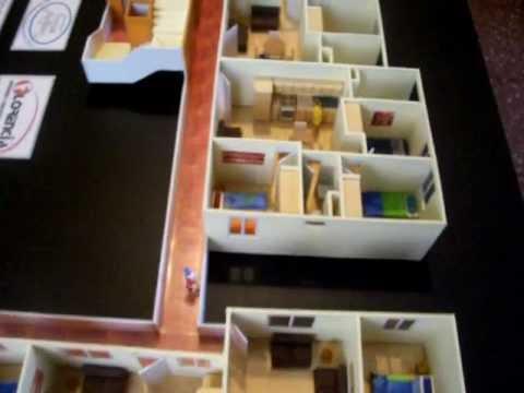 Maquetas casas guatemala edificio de apartamentos escala - Como hacer una maqueta de una casa ...