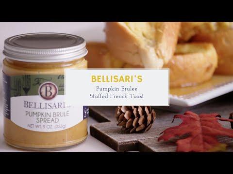 How to Make Bellisari's Pumpkin Brulee Stuffed French Toast