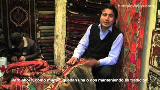 Hamit Balkir is telling us some information about the antique kilims and carpets on a tv program.(, 2016-04-25T20:11:31.000Z)