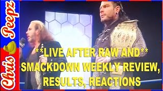 OMG! THE HARDY BOYS TELEPORT (RETURN) TO WWE! BREAKING WRESTLING NEWS! FOR NEW DAY, WYATTS(TONIGHT 2/2/17, ON GROUNDHOGS DAY IMPACT ON POP THE BROKEN HARDY'S MATT AND BROTHER NERO (JEFF) ANNOUNCED THAT THEY NEED ..., 2017-02-03T03:04:48.000Z)