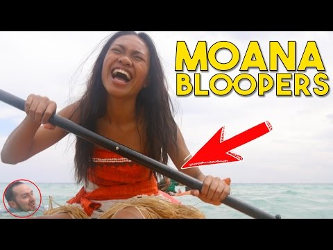 Moana Bloopers - How Far I'll Go | Behinds the scenes with Working with Lemons
