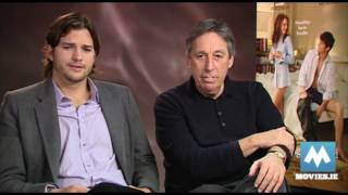 ASHTON KUTCHER - No Strings Attached Interview (with Director Ivan Reitman)