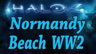 Normandy Beach WW2 - Halo 4 Custom Map