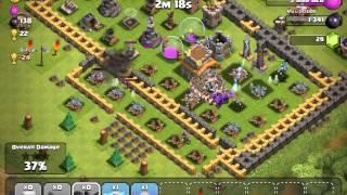 Clash of Clans Premature village, missed the collectors