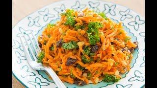 Healthy Spiced Carrot Salad
