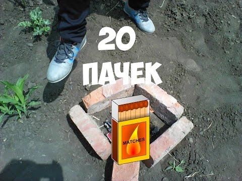 ЧТО БУДЕТ, ЕСЛИ ПОДЖЕЧЬ 20 ПАЧЕК СПИЧЕК!!!