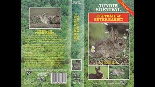 Junior Survival: The Trail of Peter Rabbit (1988 UK VHS)