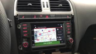 Q-kit VW Polo Composition Media Android integration
