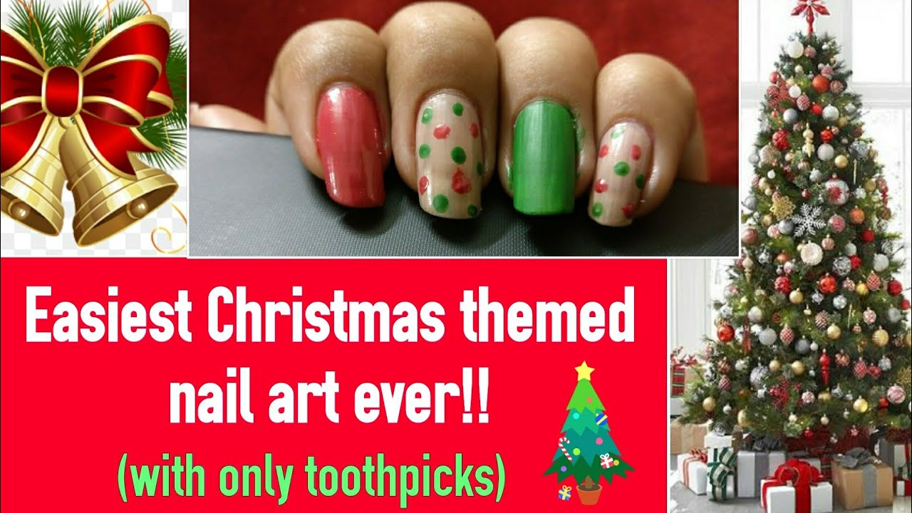 Christmas Themed Nail Art Ever Christmas Special Youtube