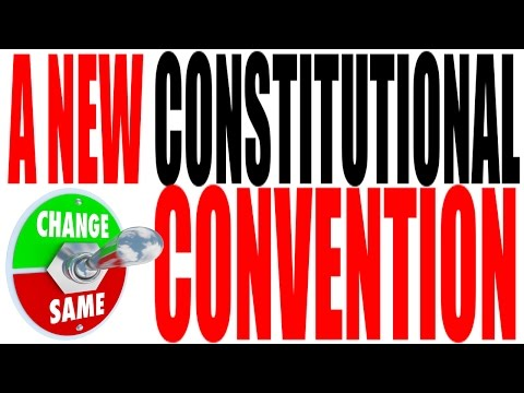 Calling for a Constitutional Convention by the States