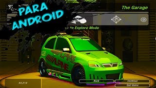 Need for Speed UNDERGROUND 2 para ANDROID!!! [APENAS 8MB]