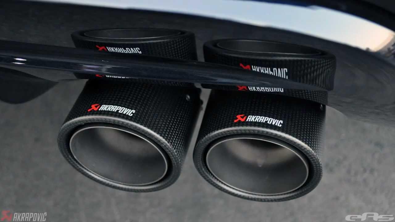 Eas 2012 E71 X6m Akrapovic Evolution Installation