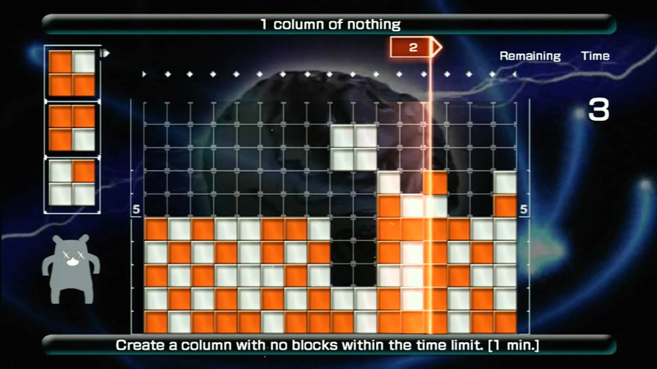 Play LUMINES LIVE Demo Download