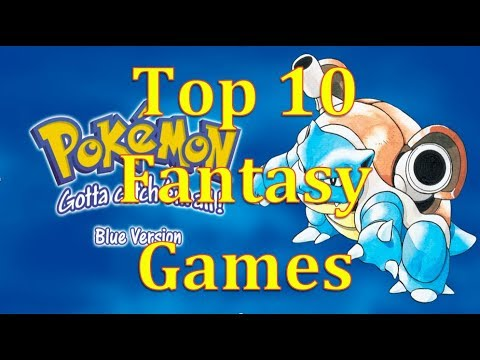 Top 10 Fantasy Video Game of All Time