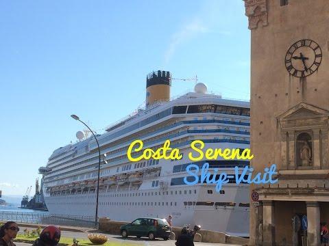 Costa Serena Ship-Visit (August 17th, 2014)