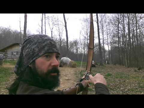 How To Shoot Bow And Arrow Primitive Archery