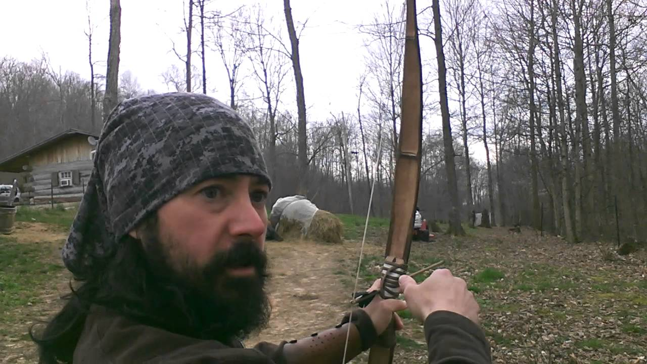 How to shoot a bow and arrow primitive archery